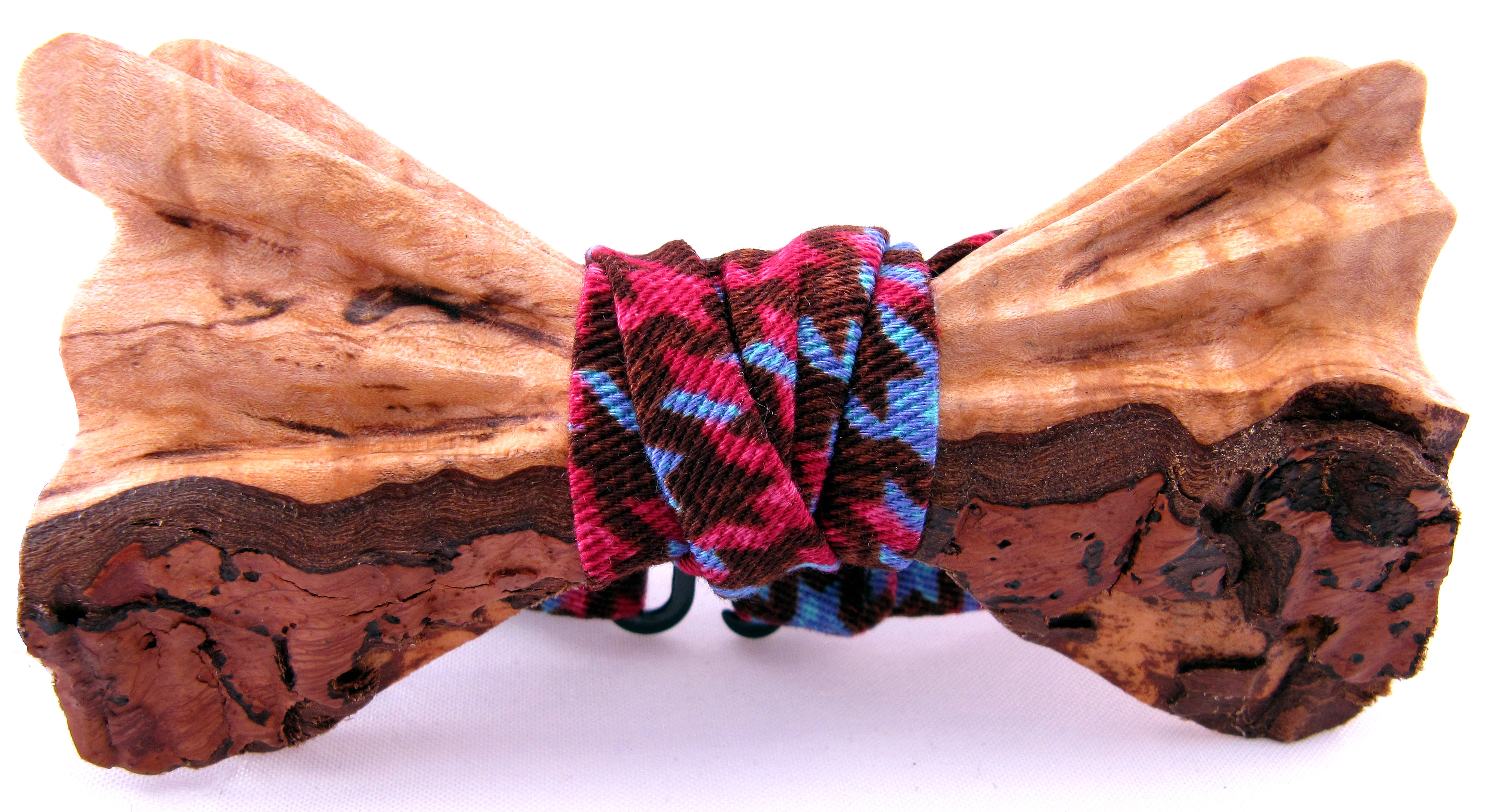 Lastest Butterfly Wood Bow Tie Tropical Night By WoodenTieCompany